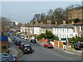 TQ4378 : Houses on Brookhill Road, Woolwich by Robin Webster