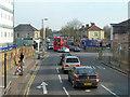 TQ4677 : Junction on Wickham Lane, A209 by Robin Webster