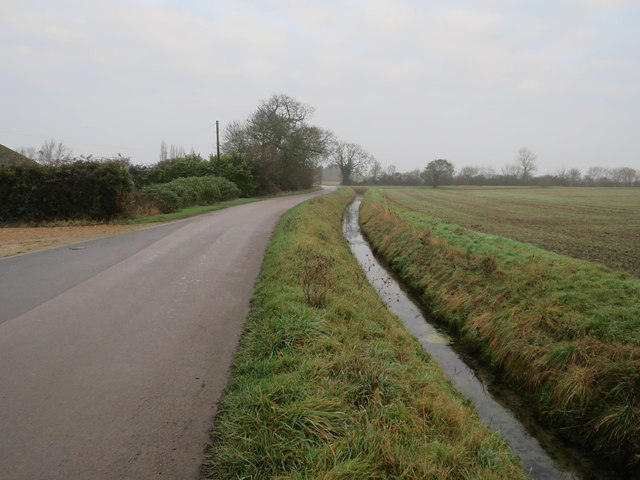 Ditch by Woodfen Road