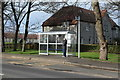 NS3331 : Bus Stop & Shelter, Troon by Billy McCrorie