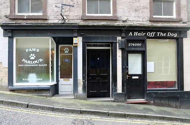 Paws Parlour at Cross Wynd, Hawick