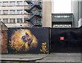 J3374 : Mural, Belfast : Week 8