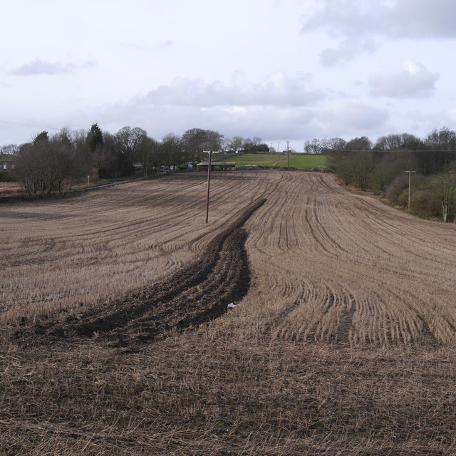 The ploughing was started ....