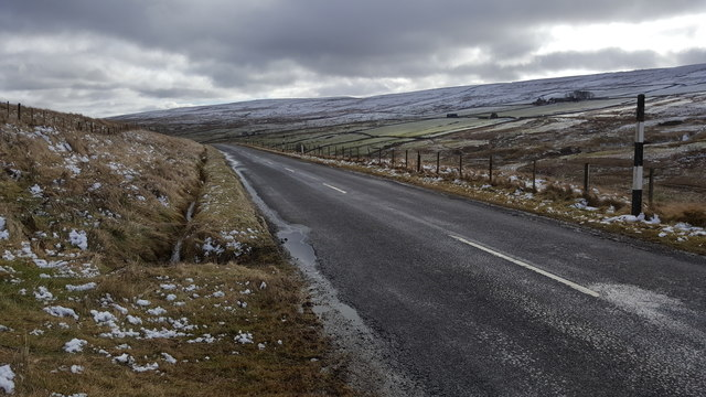 Road in Rookhope Valley