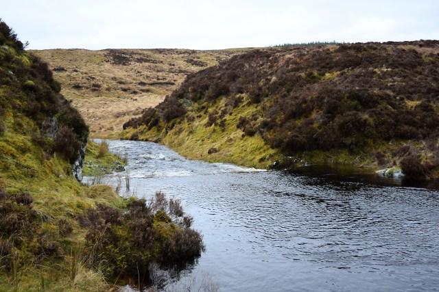 Outfall from Finchairn Loch