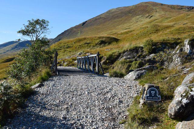 Bridge over the Allt Coire Ghaidheal