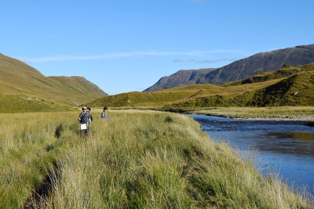 Walking up Glen Affric