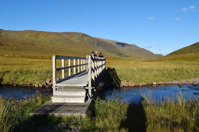 Bridge over the Allt Gleann Gniòmhaidh