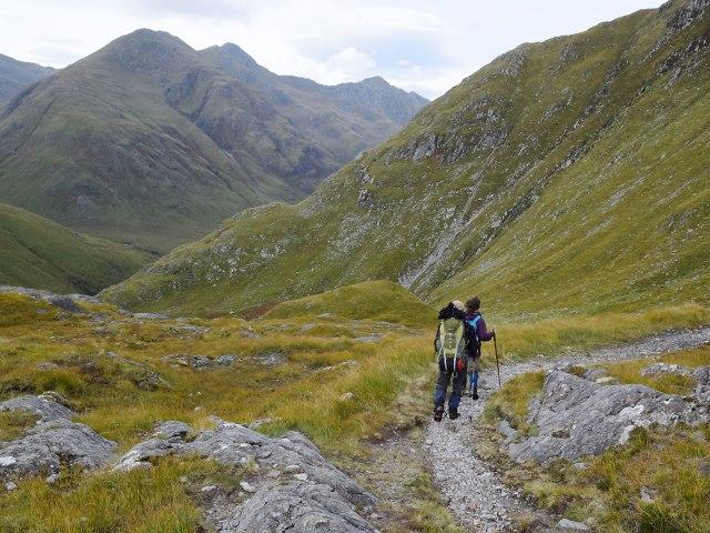 The path to Gleann Lichd