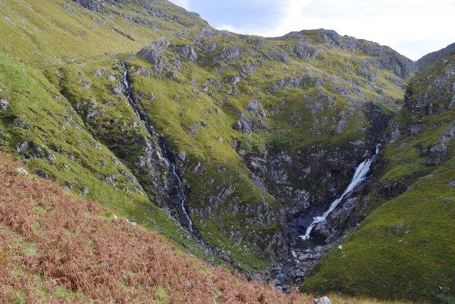 Waterfalls on the Allt Grannda