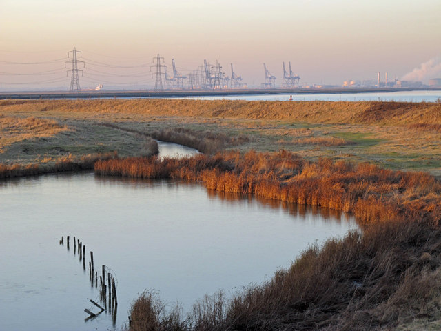 Creek on Ferry Marshes