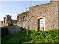 ST5772 : Bristol, Brandon Hill, Queen Elizabeth Hospital Wall by Brian Westlake