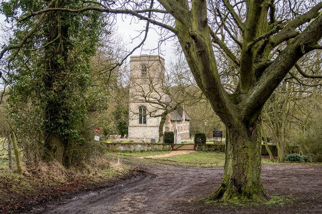 All Saints Church, Knapwell