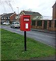 SP4893 : Elizabeth II postbox on Hinckley Road, Sapcote by JThomas