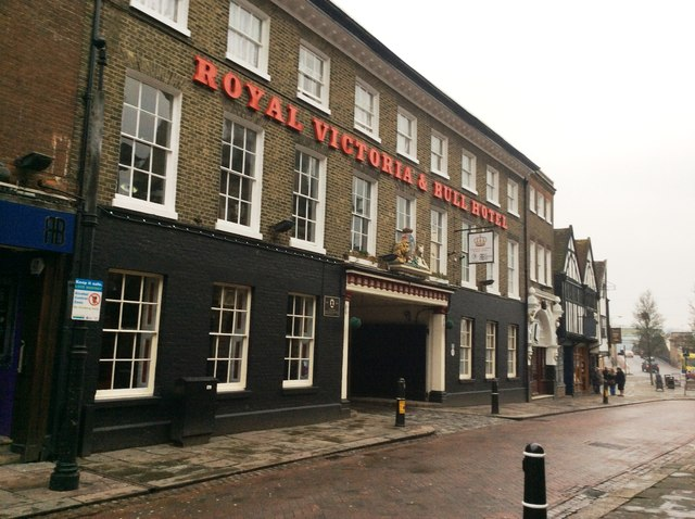 The Royal Victoria and Bull Hotel, High Street, Rochester