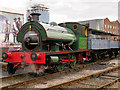 SJ8397 : RSH Outside Cylinder Steam Locomotive at the Museum of Science and Industry by David Dixon