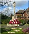 SK5717 : Barrow-upon-Soar war memorial, Melton Road by Alan Murray-Rust