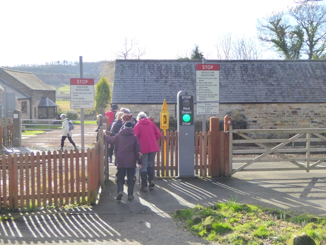 Level crossing at Fourstones