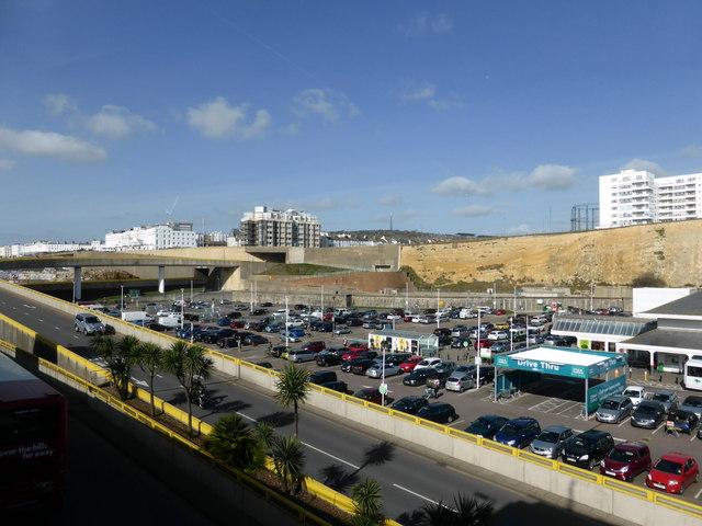 Asda Brighton Marina Car Park