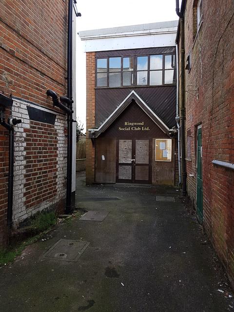 Alleyway to Ringwood Social Club