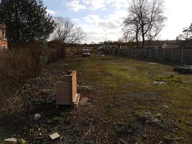 Plot to rear of Ringwood Social Club