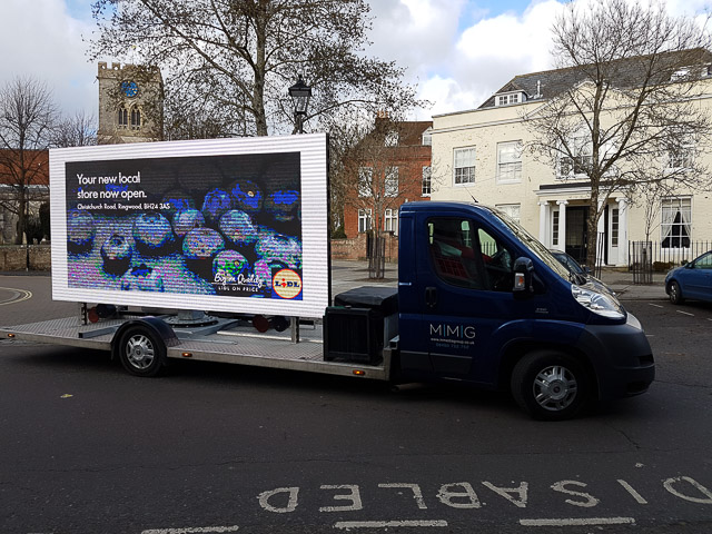 Digivan in Ringwod Market Place