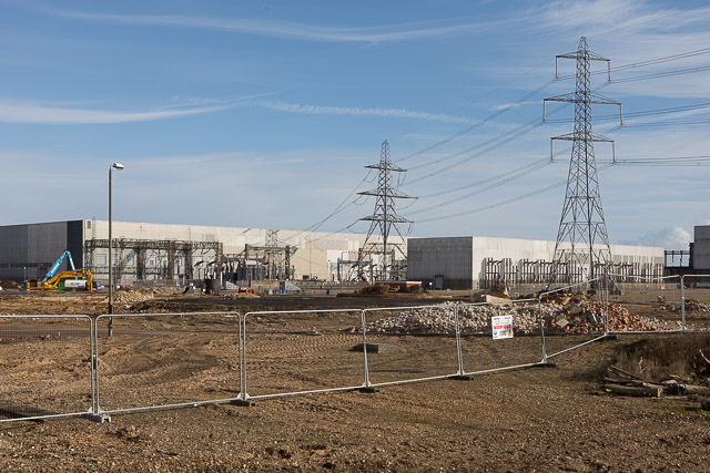 Fawley electricity substations