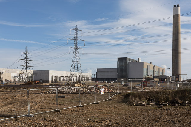 Electricity substations and Fawley Power Station