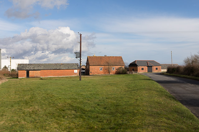 Buildings at Ower Farm