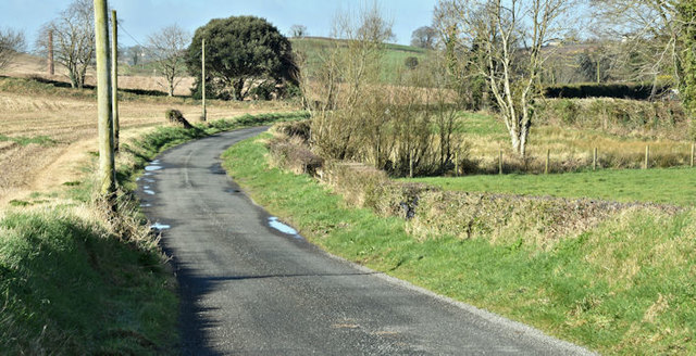 The Unicarval Road, Ballyhenry Major, Newtownards/Comber (March 2017)