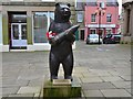 NT7853 : Wojtek the Soldier Bear, Duns by Jim Barton