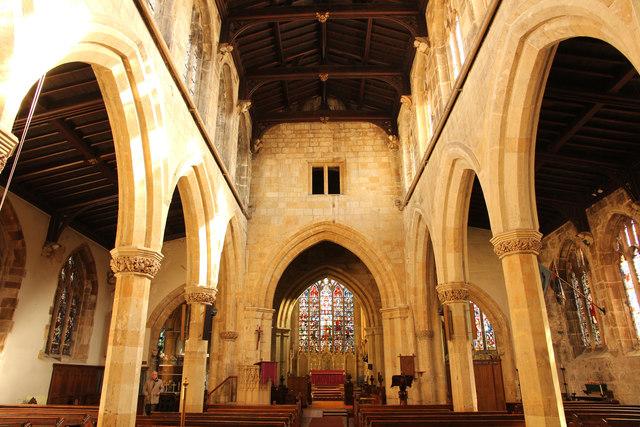 St.Swithun's nave