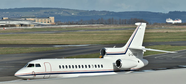 G-SRDG, Belfast City Airport (March 2017)