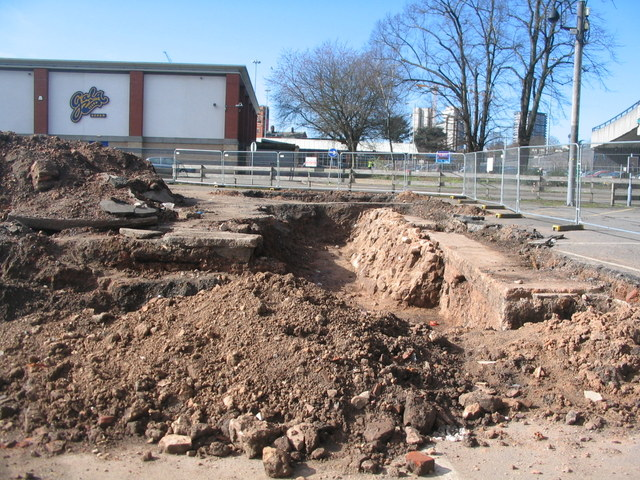 Fairfax Street car park excavations
