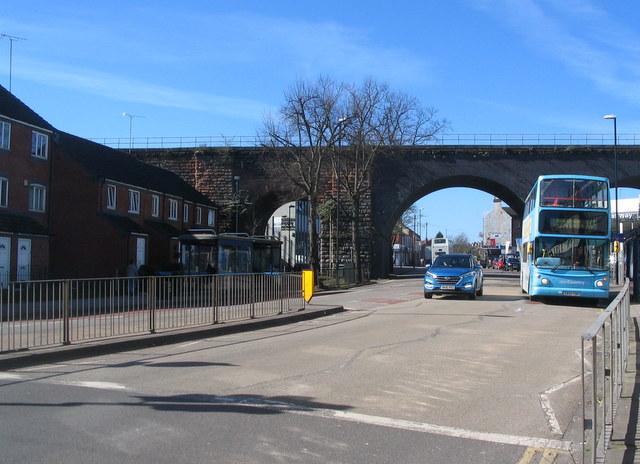 Spon End arches