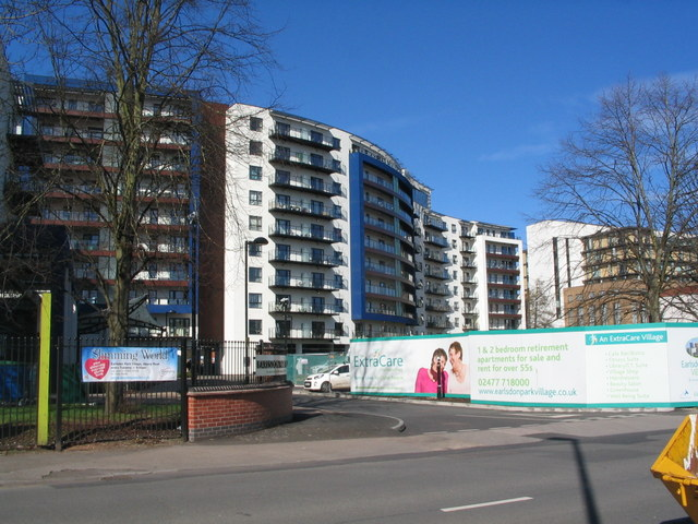 Earlsdon Park Village, Albany Road