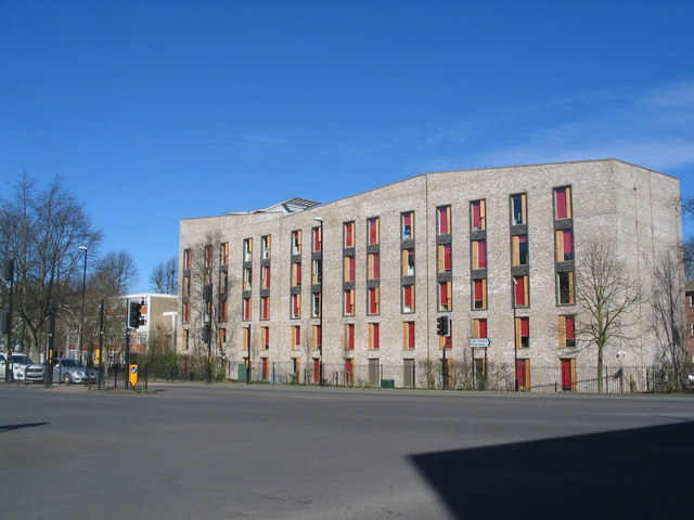 Student accommodation, The Butts