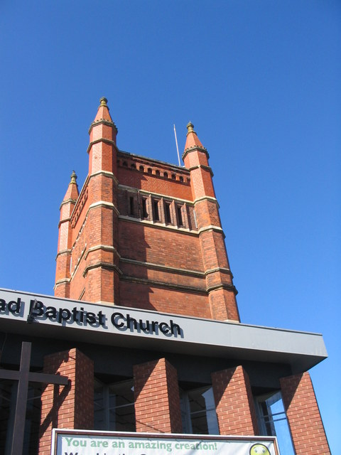 Tower of Queens Road Baptist Church