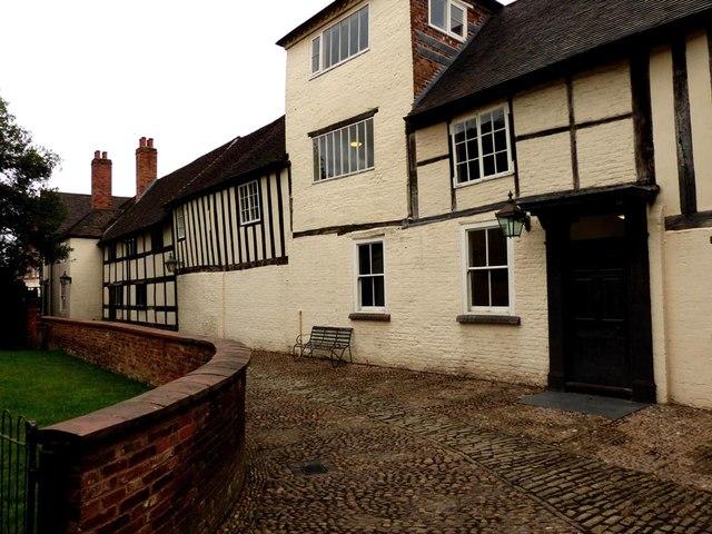 Commandery. Royalist Headquarters English Civil War