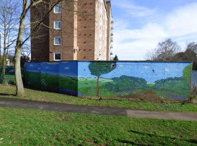 Strathearn Gardens Mural (1 of 6)