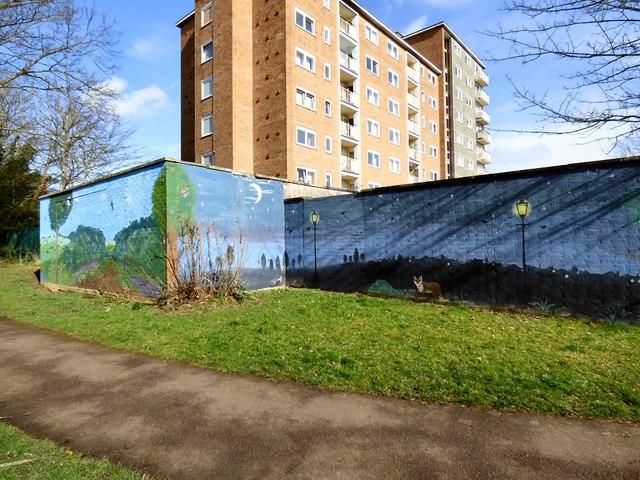 Strathearn Gardens Mural (2 of 6)