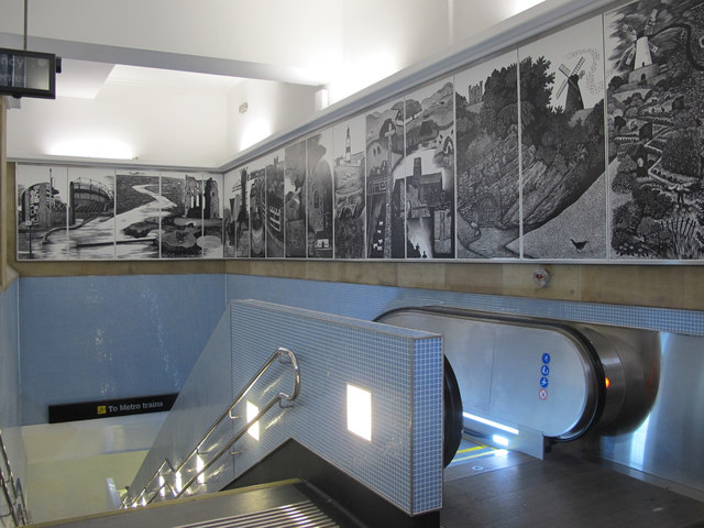 Entrance to Central Metro station
