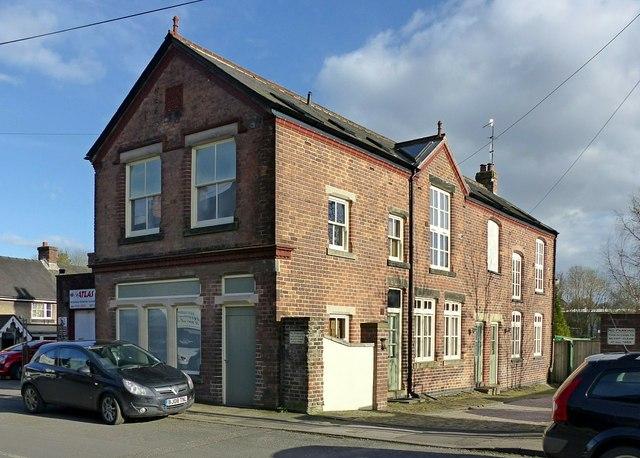Former gasworks building, Ashbourne
