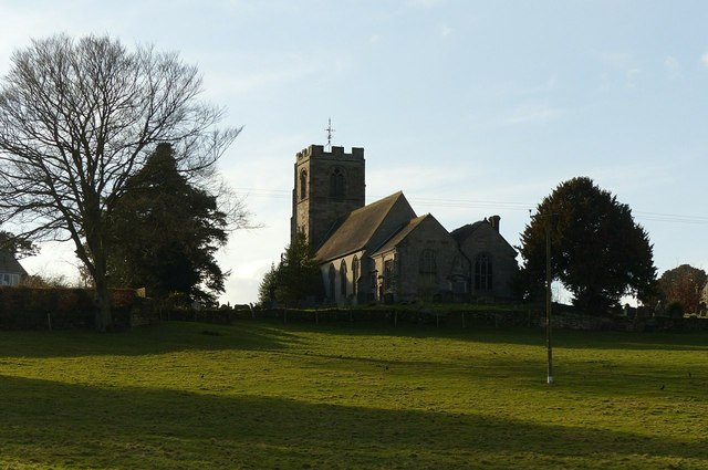 Ellastone Church