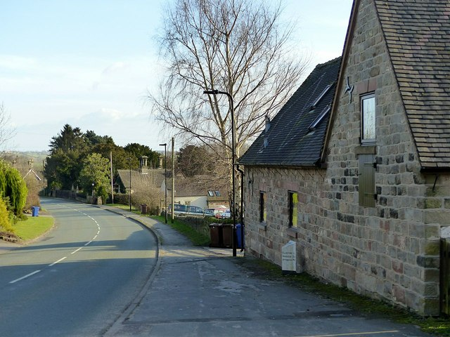 The road through Ellastone