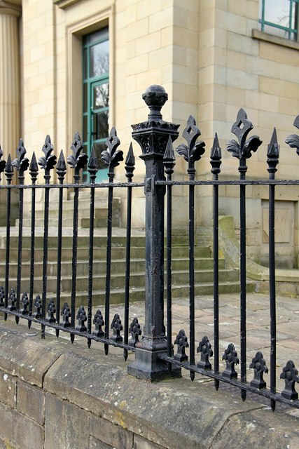 Former Sion Chapel railings, Wade Street