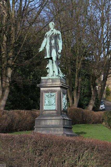 Statue of Edward Akroyd