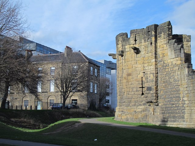 The Heber Tower and the (former) House of Correction