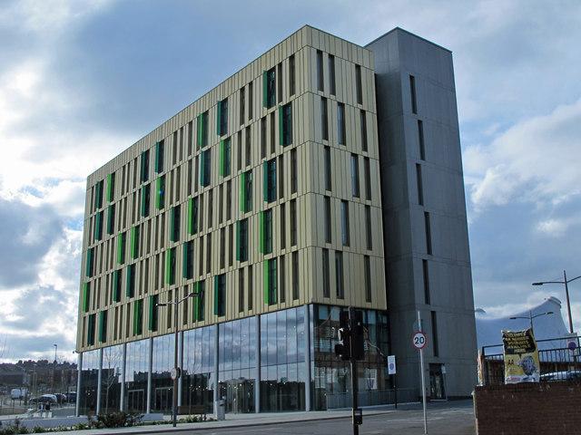 Newcastle Science Central building, Wellington Street, NE4