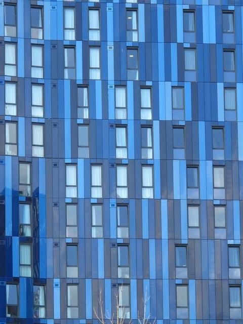 (Completely blocks) The View, Heber Street / Gallowgate, NE4 - detail